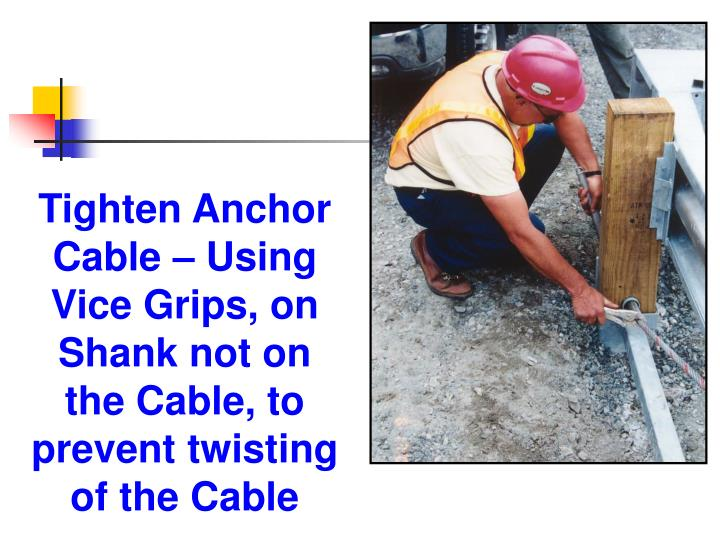 Tighten Anchor