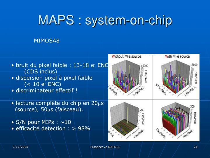 MAPS : system-on-chip