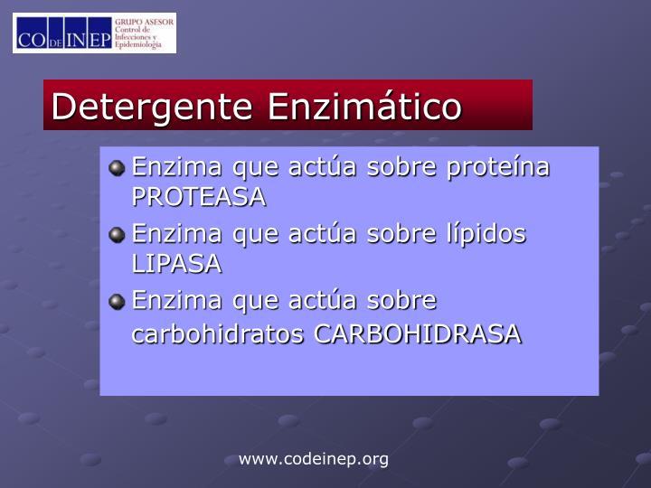 Detergente Enzimático