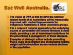 eat well australia