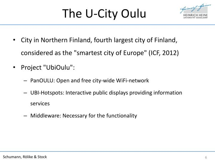 The U-City Oulu