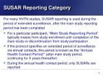 susar reporting category2