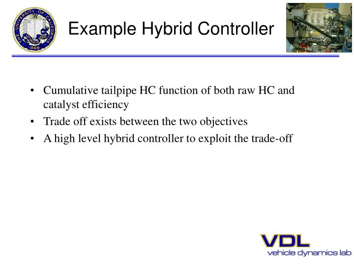 Example Hybrid Controller