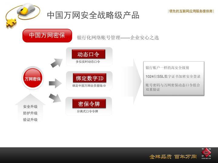 中国万网密保