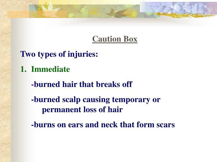 Caution Box