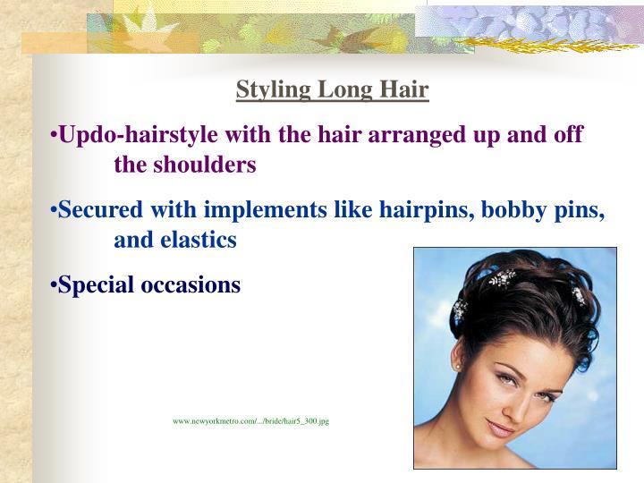 Styling Long Hair