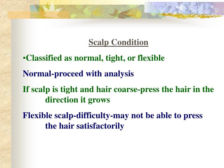 Scalp Condition