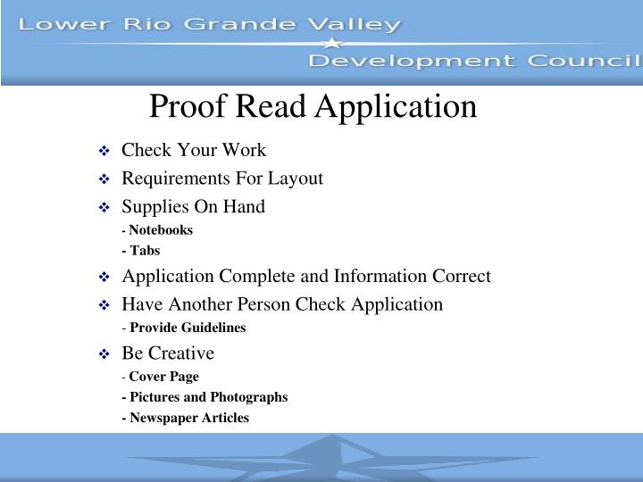 Proof Read Application