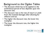 background to the ogden tables2