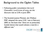 background to the ogden tables9