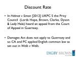 discount rate7