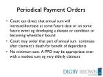 periodical payment orders2