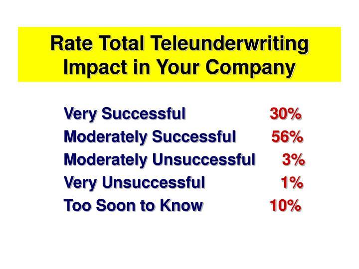 Rate Total Teleunderwriting