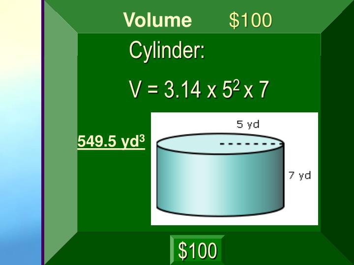 Cylinder: