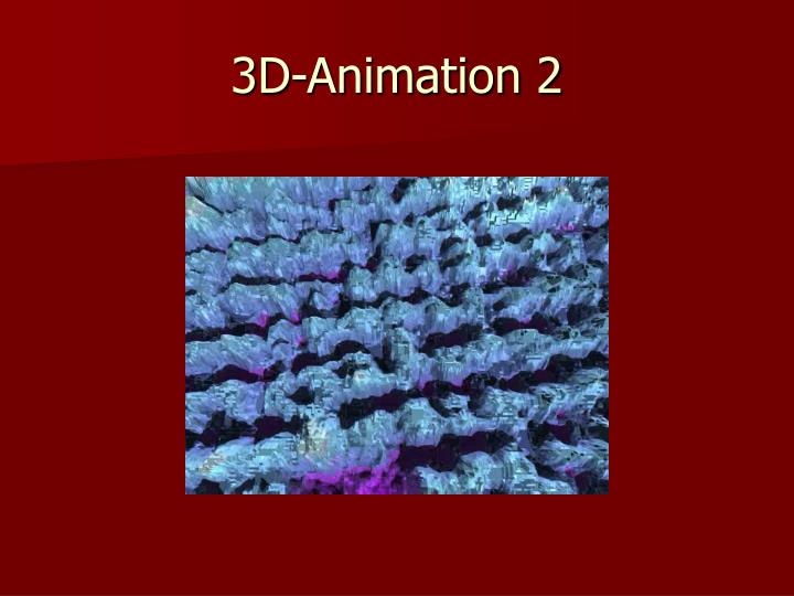 3D-Animation 2