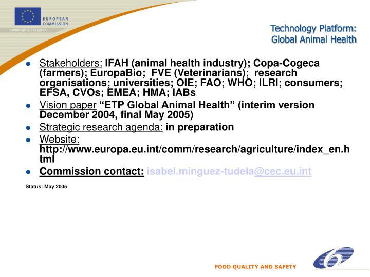 Technology Platform:
