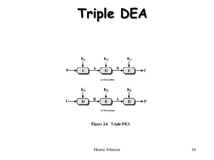 Triple DEA