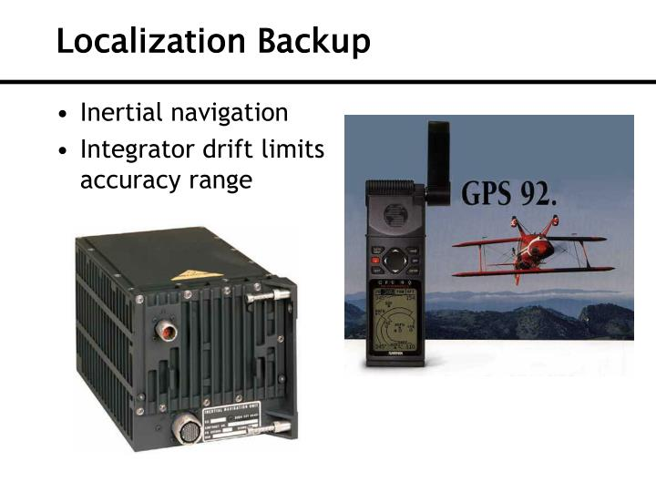 Localization Backup