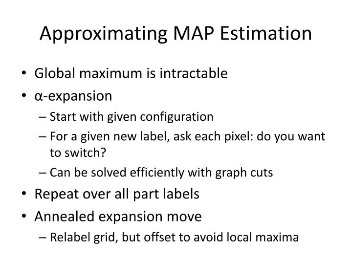 Approximating MAP Estimation