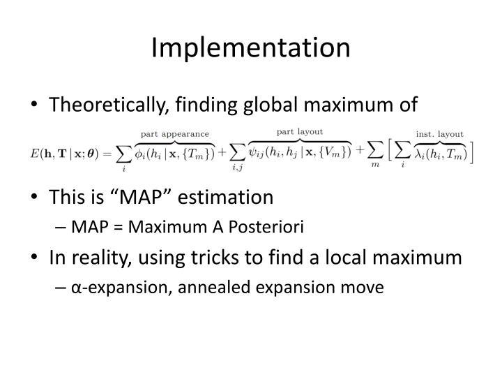 Implementation