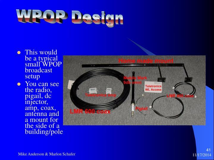 WPOP Design