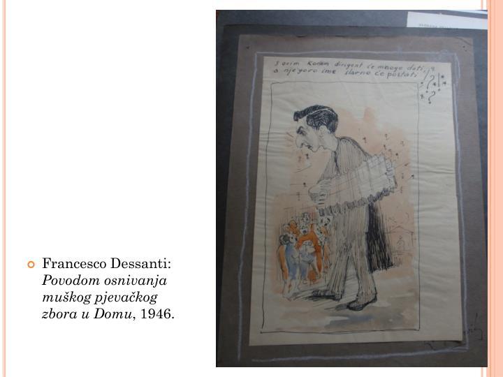 Francesco Dessanti: