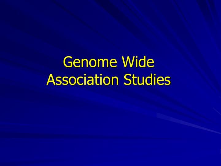 Genome Wide