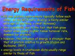 energy requirements of fish2