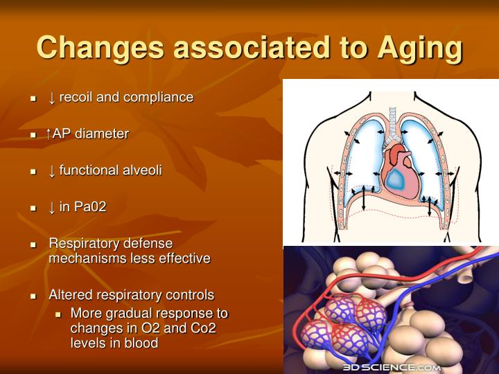 Changes associated to Aging