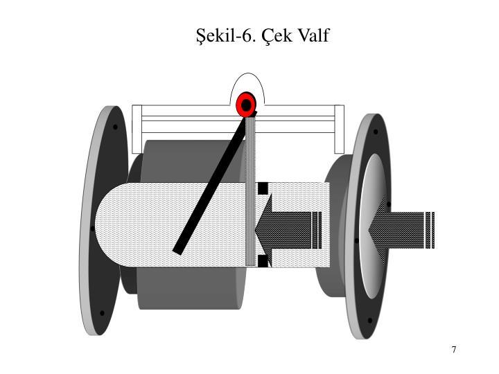 Şekil-6. Çek Valf