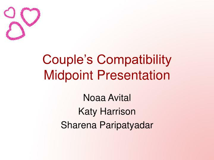 Couple s compatibility midpoint presentation