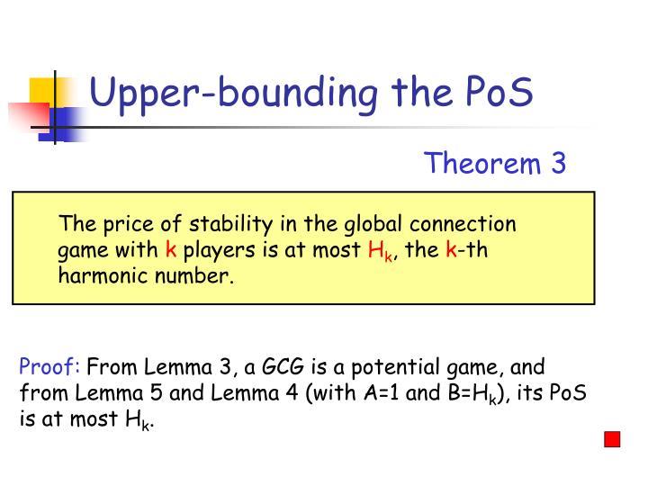Upper-bounding the