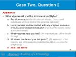 case two question 21