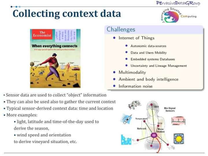 Collecting context data