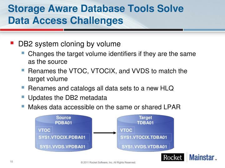 DB2 system cloning by volume