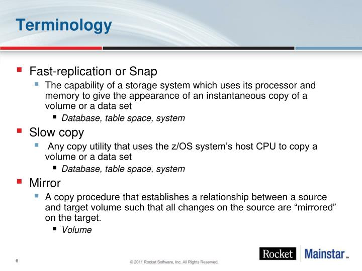 Fast-replication or Snap