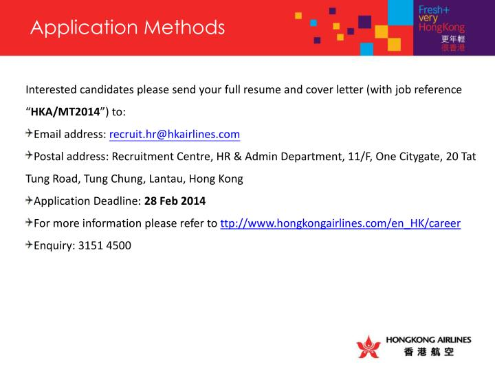 Application Methods