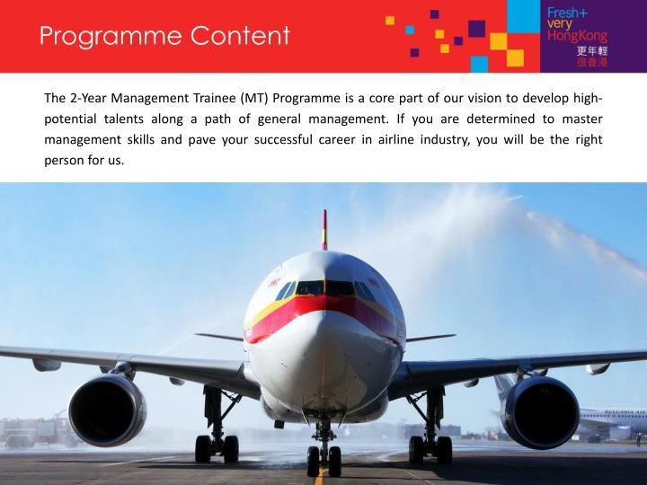 Programme Content