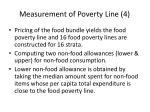 measurement of poverty line 4