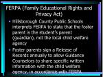 ferpa family educational rights and privacy act