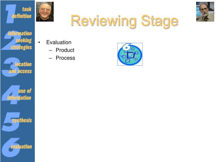 Reviewing Stage