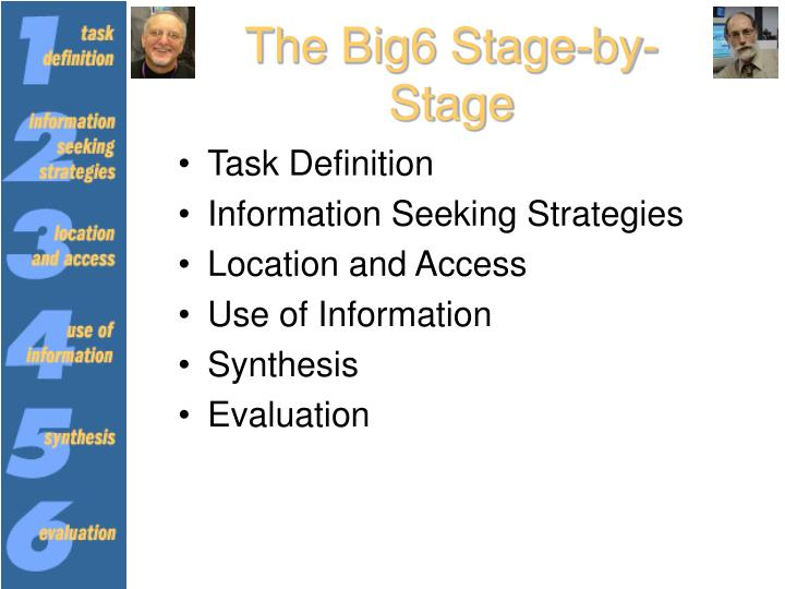 The Big6 Stage-by-Stage
