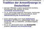 tradition der armenf rsorge in deutschland