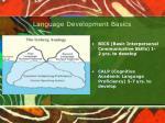 language development basics