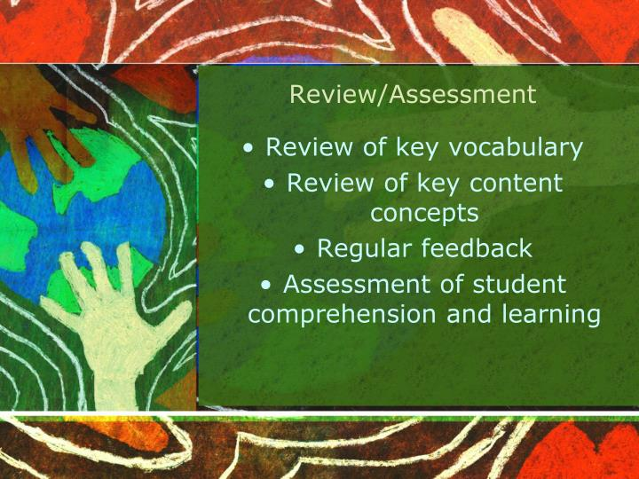 Review/Assessment