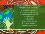 siop sheltered instruction observation protocol