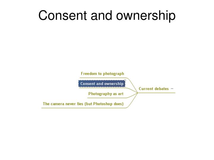 Consent and ownership
