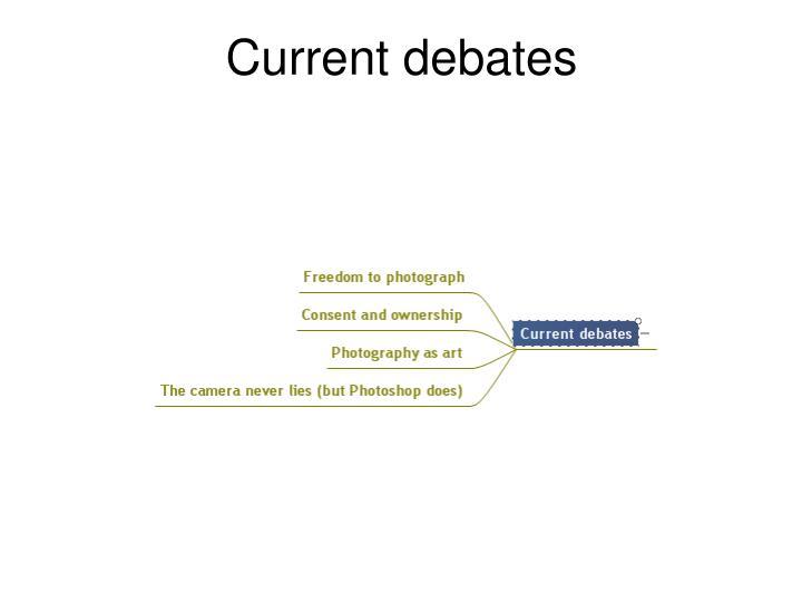 Current debates