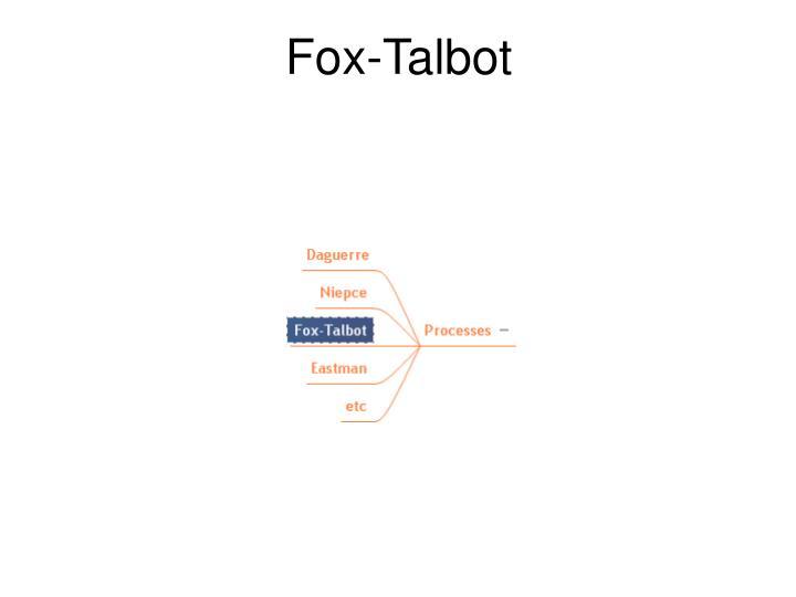 Fox-Talbot