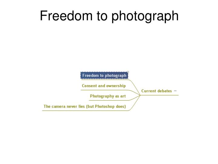 Freedom to photograph